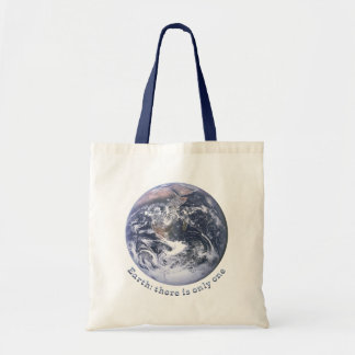 Earth There Is Only One Tote Bag