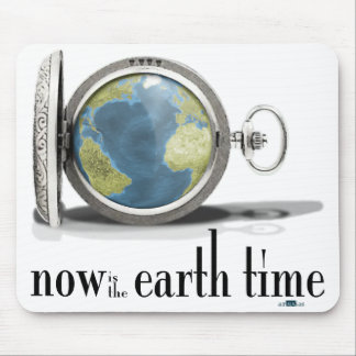 Earth Time Mouse Pad