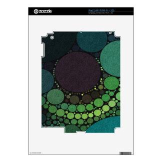 Earth Tone Abstract Dots Skin For iPad 2