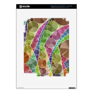 Earth Tone Bling Abstract Pattern iPad 3 Skin