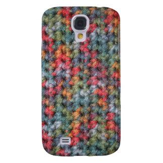 Earth Tone Crochet Galaxy S4 Case