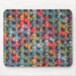 Earth Tone Crochet Mouse Pad