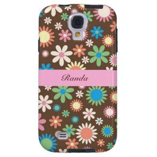 Earth Tone Floral Samsung Galaxy S4 Case