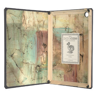 Earth Tone Painting with Cracked Surface iPad Air Case