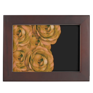 Earth Tone Roses Memory Box
