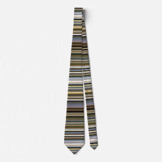 Earth Tone Stripes Tie