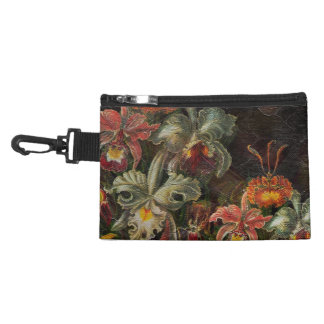 Earth Tone Vintage Flowers Accessories Bags