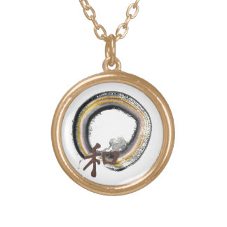 Earth toned Enso - Harmony Necklaces