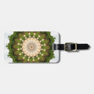 Earth Toned Spiral, Tree Kaleidoscope Tags For Bags