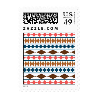 Earth Tones Geometric Tribal Pattern Stamps