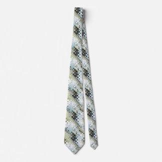 Earth Tones Pattern Tie