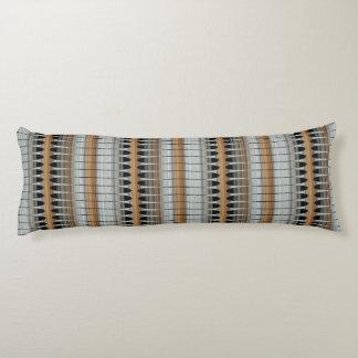 Earth Tones Peruvian Array Cotton Body Pillow