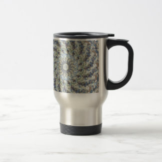 Earth Tones Roundabout 15 Oz Stainless Steel Travel Mug