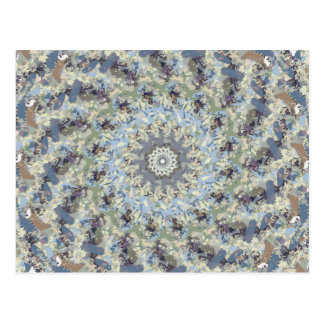 Earth Tones Roundabout Postcard