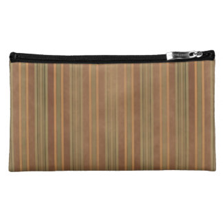 Earth Tones Sueded Cosmetic Bagettes Bag
