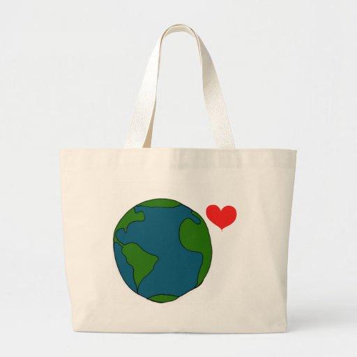 Earth Tote Canvas Bag