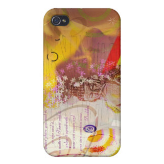 Earth Touching Budha Covers For iPhone 4