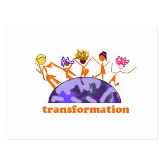 Earth Transformation Postcard
