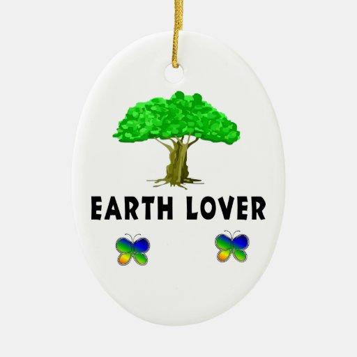 Earth Tree Lover Christmas Ornament