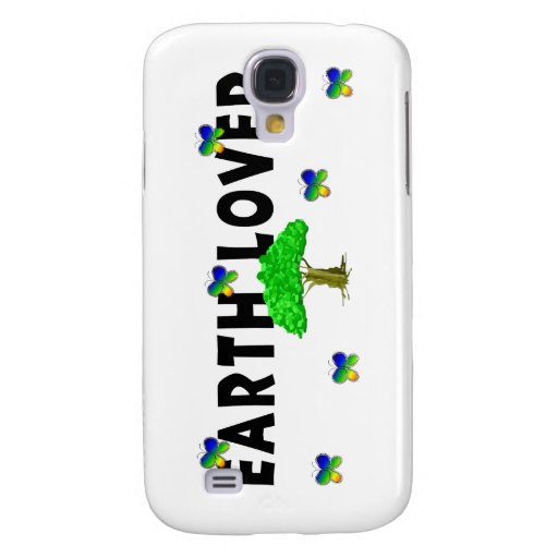Earth Tree Lover Galaxy S4 Cases