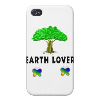 Earth Tree Lover Covers For iPhone 4