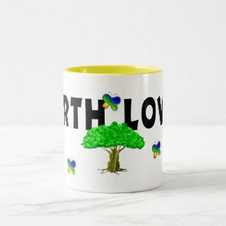Earth Tree Lover Two-Tone Coffee Mug