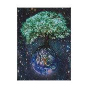 Earth Tree of Life Canvas Print (<em>$164.95</em>)