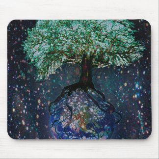 Earth Tree of Life Mouse Pad
