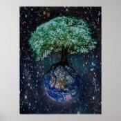 Earth Tree of Life Poster (<em>$20.25</em>)