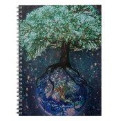 Earth Tree of Life Spiral Notebook (<em>$13.70</em>)