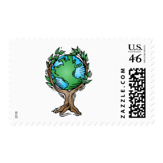 earth tree stamps