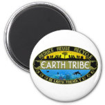 Earth Tribe 2 Inch Round Magnet