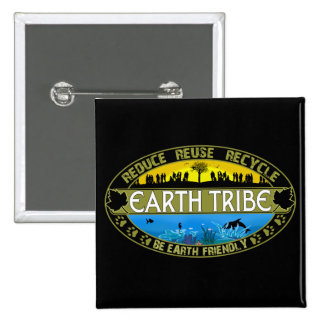 Earth Tribe Buttons