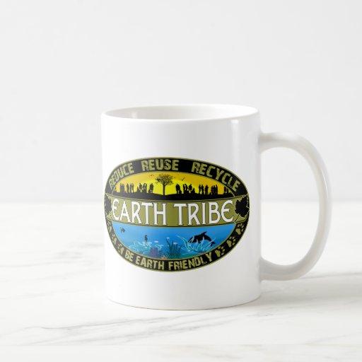 Earth Tribe Classic White Coffee Mug