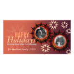 Earth Tribe Holiday New Year Photo Greeting Card