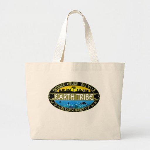 Earth Tribe Jumbo Tote Bag