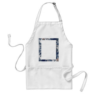 Earth Trim Border and Background Template Adult Apron