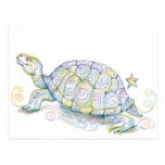 Earth Turtle Postcard