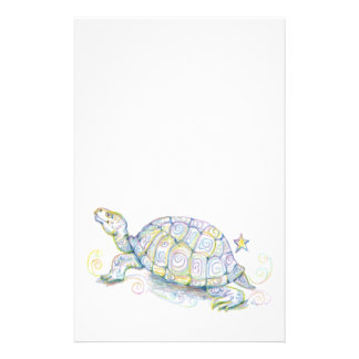 Earth Turtle Stationery Design