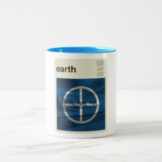 Earth Two-Tone Coffee Mug