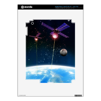 Earth Under Attack Decal For iPad 3