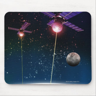 Earth Under Attack Mouse Pad