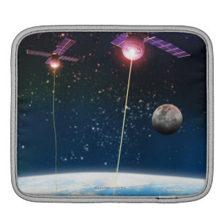 Earth Under Attack Sleeve For iPads
