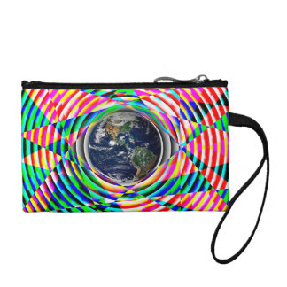 Earth Vibes by Kenneth Yoncich Coin Purse