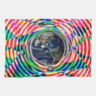 Earth Vibes by Kenneth Yoncich Hand Towel