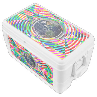 Earth Vibes by Kenneth Yoncich Ice Chest