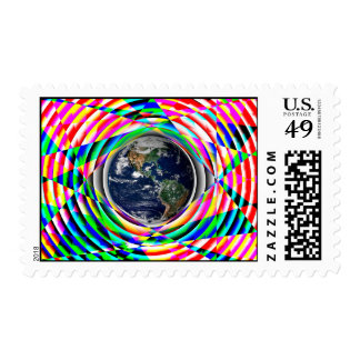 Earth Vibes by Kenneth Yoncich Postage