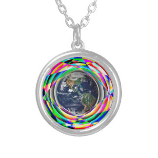 Earth Vibes by Kenneth Yoncich Silver Plated Necklace