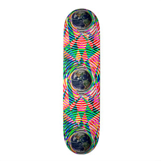 Earth Vibes by Kenneth Yoncich Skateboard Deck