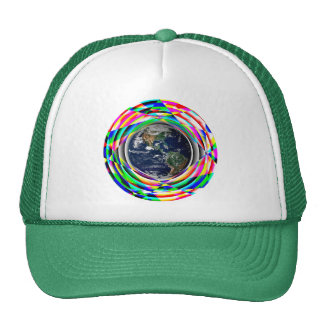 Earth Vibes by Kenneth Yoncich Trucker Hat